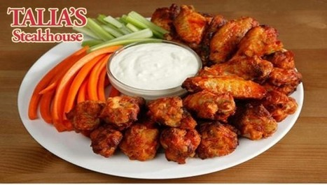 Talia's Steakhouse & Bar proudly unveils their all-new steakhouse wings deal, now at 50% off for a limited time only with today's jdeal! | Kosher Restaurants NYC | Scoop.it