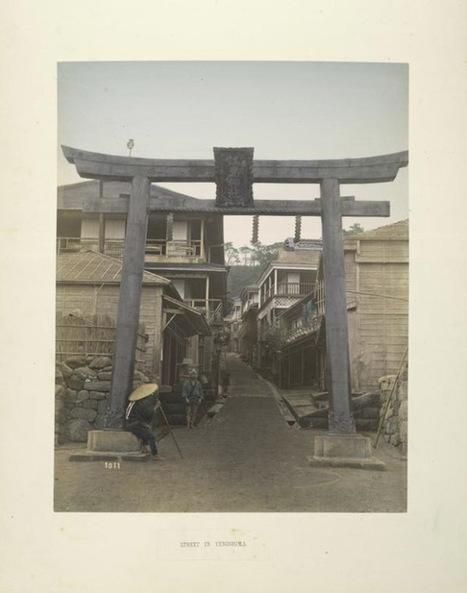 Des photos couleur du Japon du XIXe siècle publiées par la bibliothèque de New York | Veille & Documentation | Scoop.it