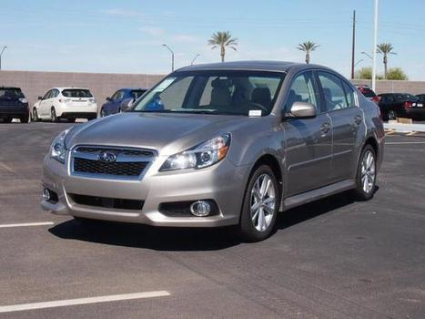 New 2014 Subaru Legacy 2.5i Limited w/Moonroof Pkg For Sale In Chandler | New and used Vehicles | Scoop.it
