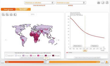 La population en cartes interactives - un outil cartographique de l'INED | Enseigner l'Histoire-Géographie | Scoop.it