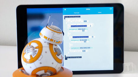 Bored With BB-8? Sphero's SPRK App Lets You Reprogram Your Droid to Be Exciting Again | iPads, MakerEd and More  in Education | Scoop.it