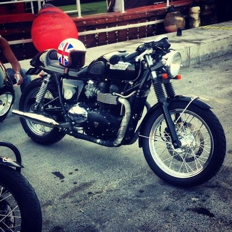 A Modern Day Retro Racer / Del Michael Gasan | Cafe Racers | Scoop.it