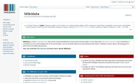 Wikipedia ya tiene una fuente de datos estructurados   Social Media   Scoop.it