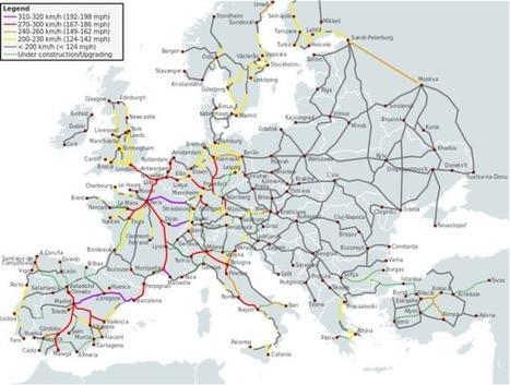 Viajar en tren por Europa   Viajes   Scoop.it