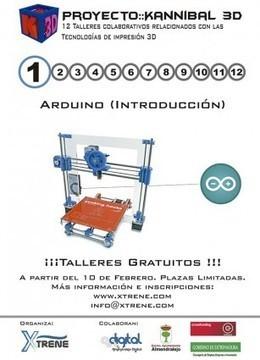 Xtrene - Inicio de los talleres del proyecto Kannibal 3D | Xtrene | Scoop.it