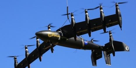 La Nasa teste un prototype mi-avion mi-hélicoptère tout électrique | Remembering tomorrow | Scoop.it