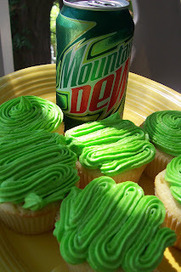 Mountain Dew Cupcakes | Fat Kid Food | Scoop.it