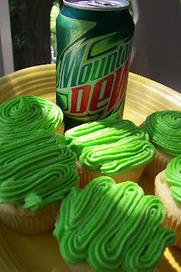 Mountain Dew Cupcakes | Fat Kid Food | Scoop.it