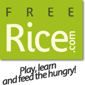 Play online, learn online and feed the hungry | Freerice.com | Resources for learning english | Scoop.it