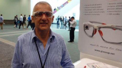 Lunettes connectées : GlassUp, la petite italienne qui veut faire de l'ombre à Google   Nouvelles du monde numérique   Scoop.it