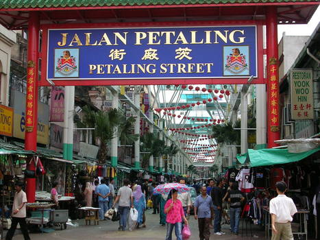 Chinatown | Petaling Street in Kuala Lumpur | Year 1 Geography: Places - Malaysia | Scoop.it
