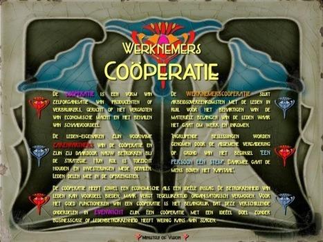 Visie op de coöperatie (Infographic) | Ministry of Vision | Scoop.it