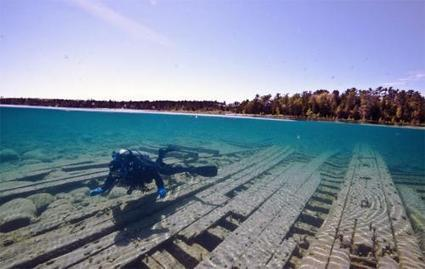 Lake Huron shipwrecks offer an underwater window into history - Michigan State University Extension | DiverSync | Scoop.it
