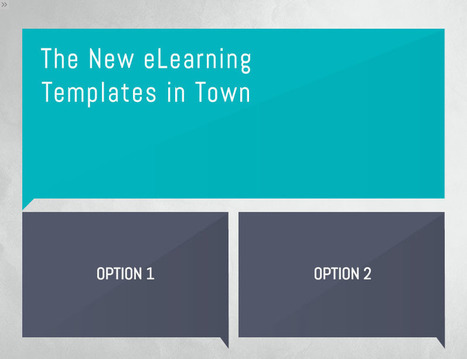 The New eLearning Templates in Town » eLearning Templates | Web based applications | Scoop.it