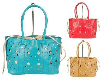 (1)   HERISSON FIRENZE Damen Handtasche, Bag in Bag Shopper, 3 Farben: braun, türkis oder altrot, Farbe:rot | Clutch Bags Online | Scoop.it