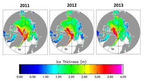 New dimensions on ice: Arctic winter ice continues to decline | Amazing Science | Scoop.it
