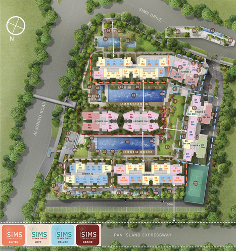 Sims Urban Oasis - Singapore New Launch Property & Condo | Singapore Real Estate | Scoop.it