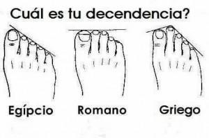 [A patadas ;-)] ¿Sabías que es posible averiguar tu descendencia por la forma de tus pies? - alsalirdelcole | MAZAMORRA en morada | Scoop.it