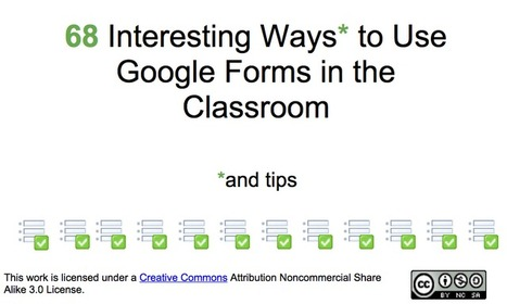 EdTech Toolbox: The use of Google Forms in the Classroom | Technology Integration | Scoop.it