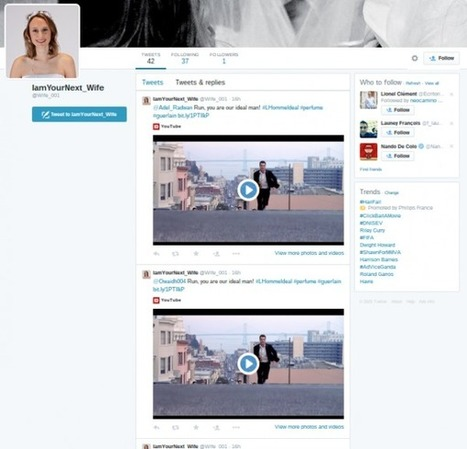 Fake et spam, le fail Guerlain sur Twitter | Le Social Media par ChanPerco | Scoop.it