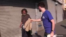 #FitchTheHomeless campaign goes viral - Big Issue | Social Media | Scoop.it