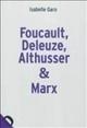 Foucault, Deleuze, Althusser & Marx: la politique dans la philosophie - France Culture | Archivance - Miscellanées | Scoop.it