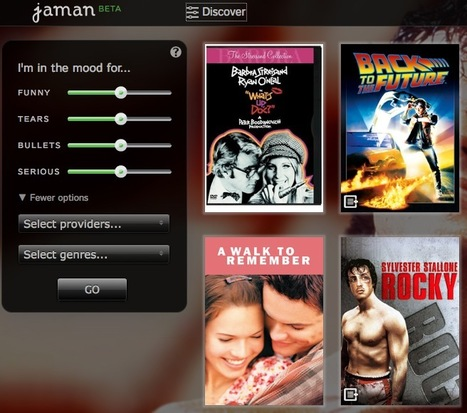 Find The Best Movies You Don't Know About with Free Movie Discovery App Jaman | Awesome ReScoops | Scoop.it
