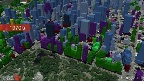 Cube Cities blog: Midtown Manhattan Growth Animation (1850-2015) | Blunnie's Geo Portfolio | Scoop.it