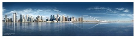 """Calatrava's """"Sharq Crossing"""" Planned for Doha Skyline 