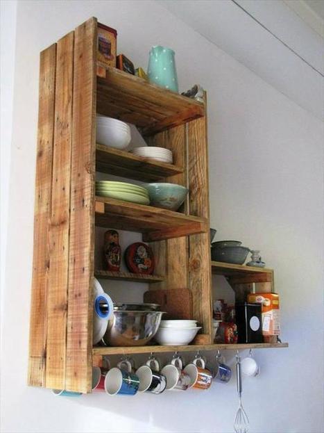 DIY Recycled Pallet Kitchen Cabinet Pallets Furniture Designs DIY