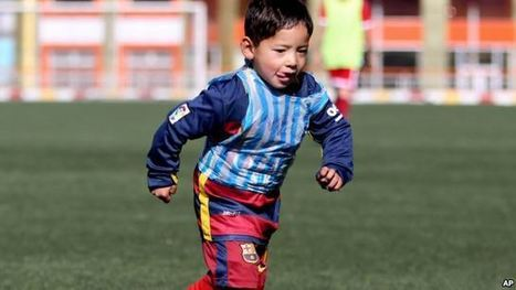 Trending Today: Lionel Messi's Biggest Fan | Useful Resources for teachers of English | Scoop.it