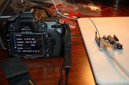 Nikon D90 Homemade GPS #Arduino #celebratephotography | Raspberry Pi | Scoop.it