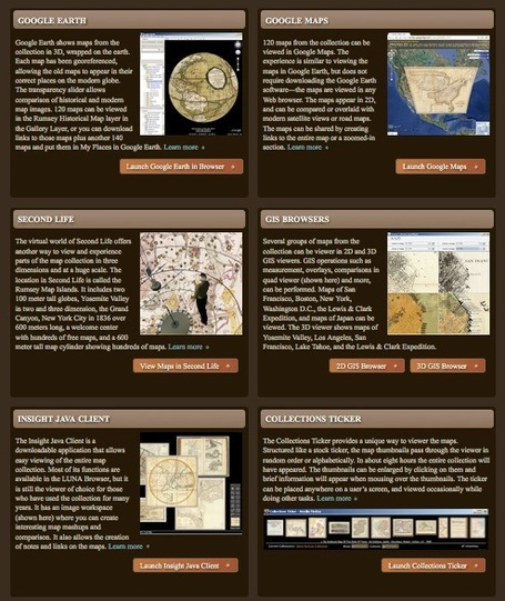 Curation At Work: The David Rumsey Historical Map Collection | Antiques & Vintage Collectibles | Scoop.it