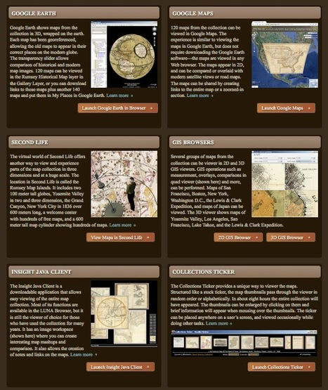 The David Rumsey Historical Map Collection | compaTIC | Scoop.it