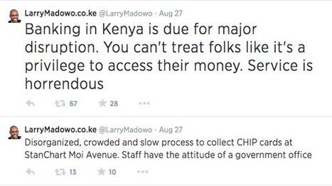 Larry Madowo Blasts Stanchat Bank | Nairobi Gossip & News | Gossip | Scoop.it