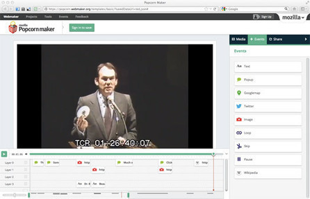TED Blog   How Popcorn Maker adds a new layer of information to a TEDTalk   Interactive Documentary   Scoop.it