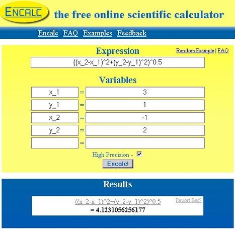 Encalc - Una calculadora científica online | Edu-Recursos 2.0 | Scoop.it