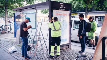 Bus stop Pac Man | Raspberry Pi | Arduino, Netduino, Rasperry Pi! | Scoop.it