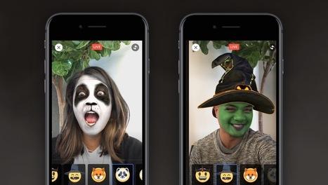 Des réactions pour Halloween et des masques pour les Live Facebook | Animer une communauté Facebook | Scoop.it