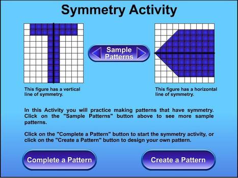Symmetry Activity | Symmetry Games | Scoop.it