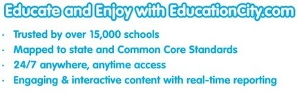 Fun Educational Games for Kids | e-Learning Resources for Teachers | EducationCity US | EducationCity US | Liberating Learning with Web 2.0 | Scoop.it