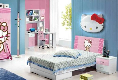 Cute Hello Kitty Bedrooms | News Info | Scoop.it