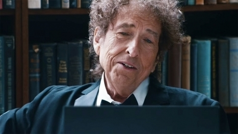 Ad of the Day: IBM's Watson talks love and loss with Bob Dylan in advertising's oddest pairing | advertising and marketing | Scoop.it