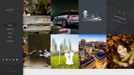 Argon - A Creative Fullscreen Photo WordPress Theme | Free & Premium WordPress Themes | Scoop.it