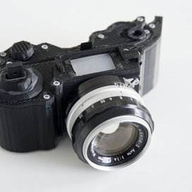 3D Printed Camera : OpenReflex | Open Hardware | Scoop.it