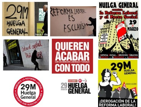 Manifiesto por la Huelga General #29M en 2012 | huelga ESPAÑA 29M | Scoop.it