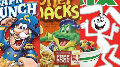 How Cereal Boxes Are Designed To Hypnotize You | Visual & digital texts | Scoop.it