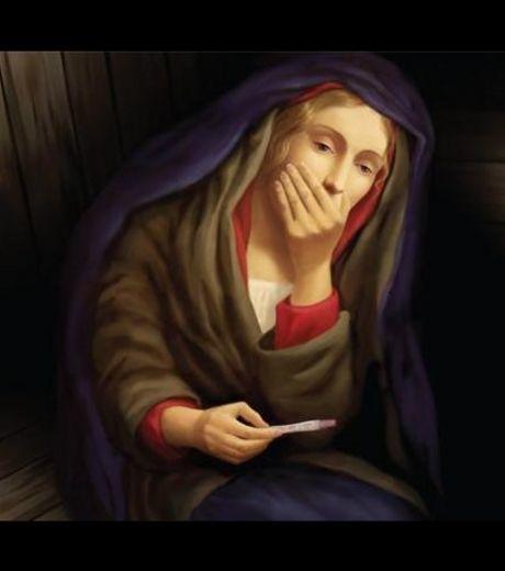 Une image de la Vierge Marie enceinte  fait scandale | Mais n'importe quoi ! | Scoop.it