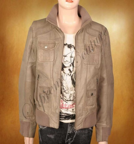 A friendly fashion and durable outfit is Novelty Multi- Pocket Leather Jacket. | WOMEN JACKETS | Scoop.it