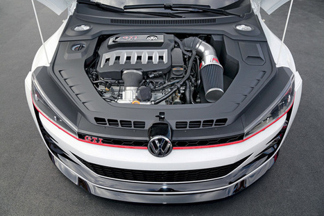 500 HP Volkswagen GTI Design Vision - Top Cars   Damn It's Awesome   Scoop.it